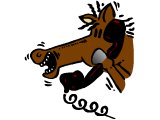A horse on the phone - news from the horses mouth