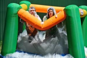 bouncy bubble house