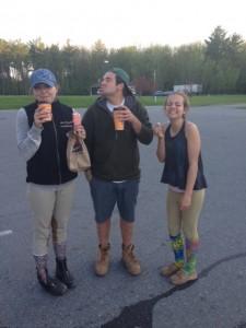 Annie, Harrison and Zanna