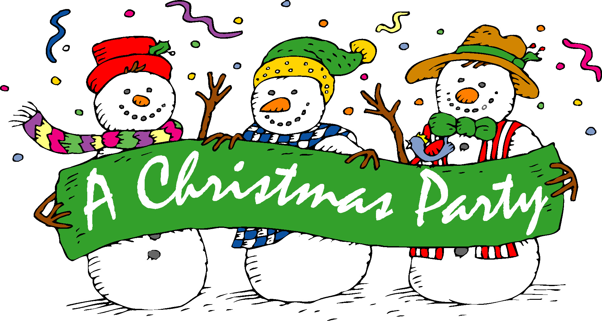 christmas party sign - Engne.euforic.co